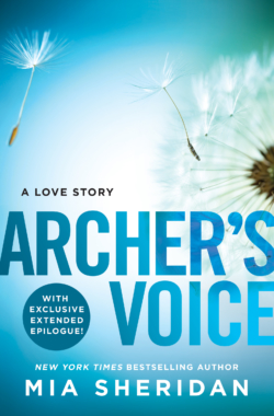 ARCHER'S VOICE Cover (eBook) – Mia Sheridan