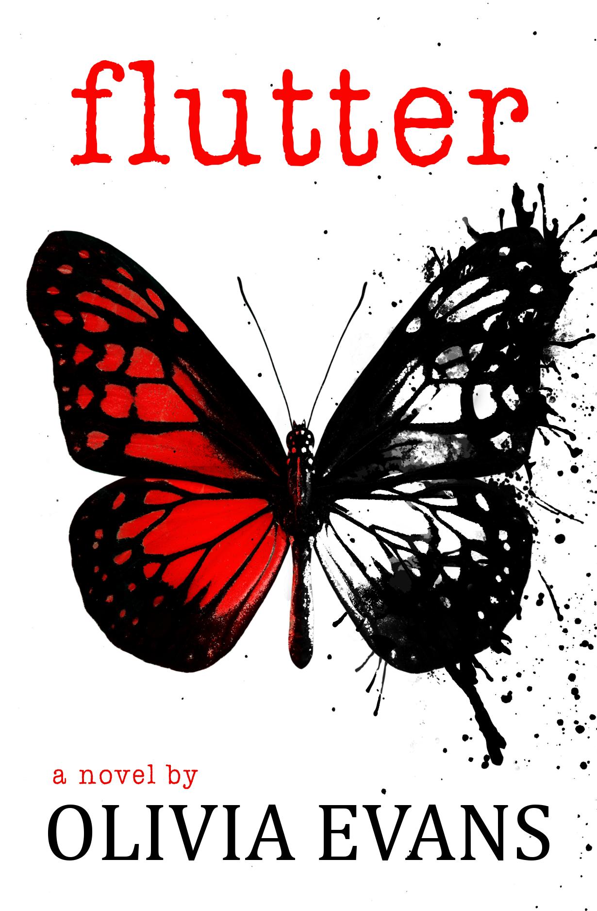 FLUTTER Cover – Olivia Evans