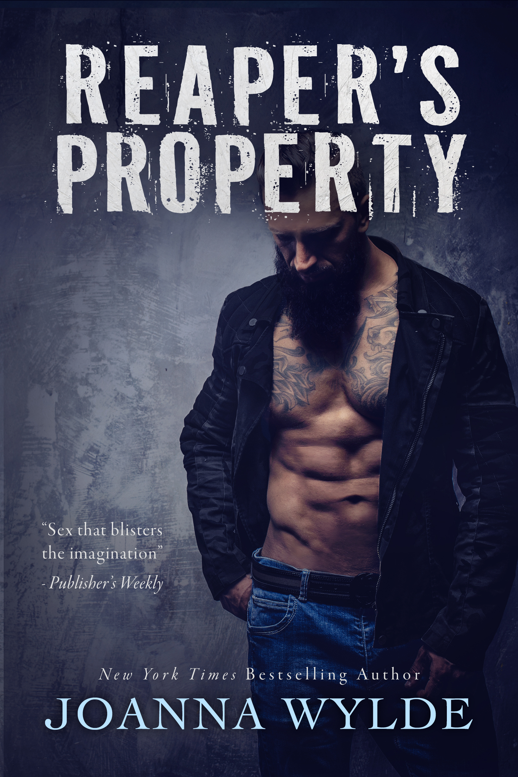 REAPER'S PROPERTY Cover – Joanna Wylde