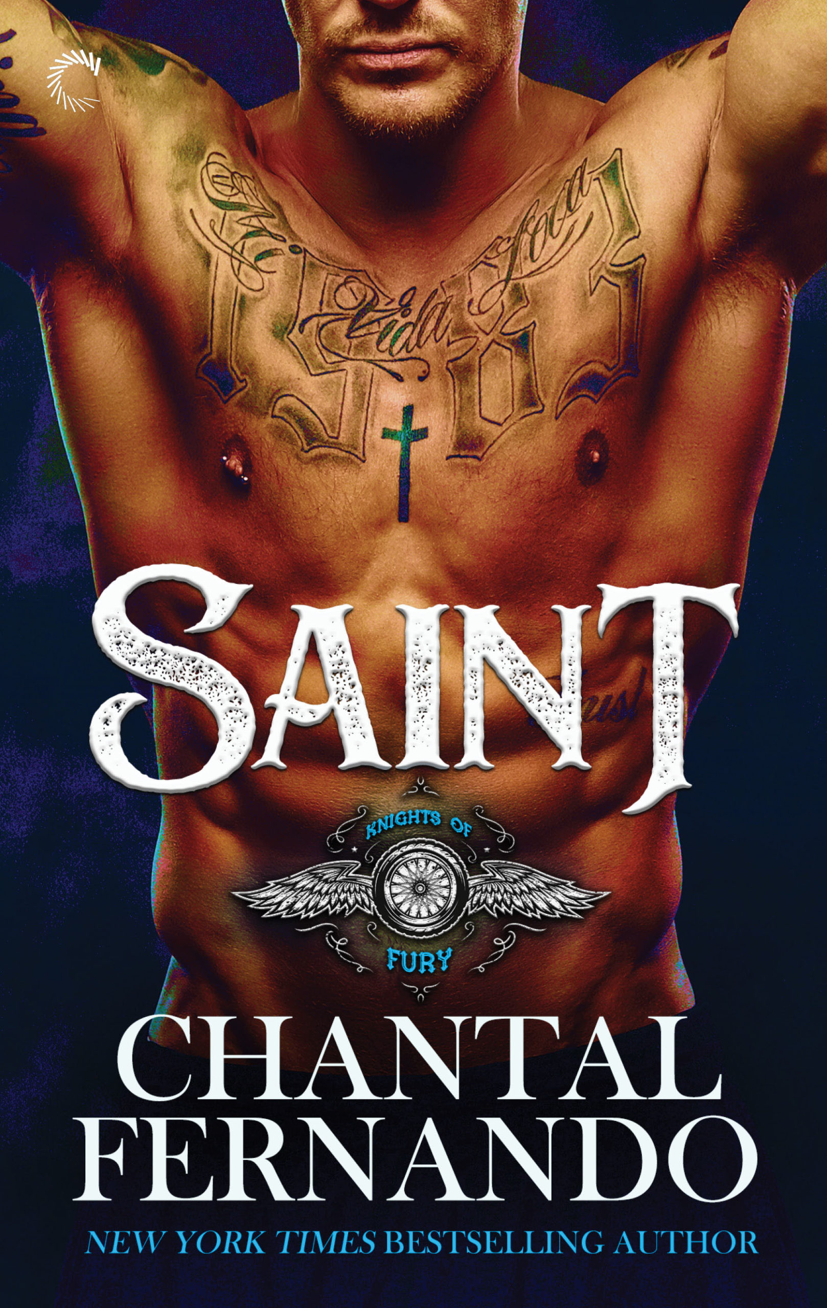 SAINT (Knights of Fury #1) Cover – Chantal Fernando