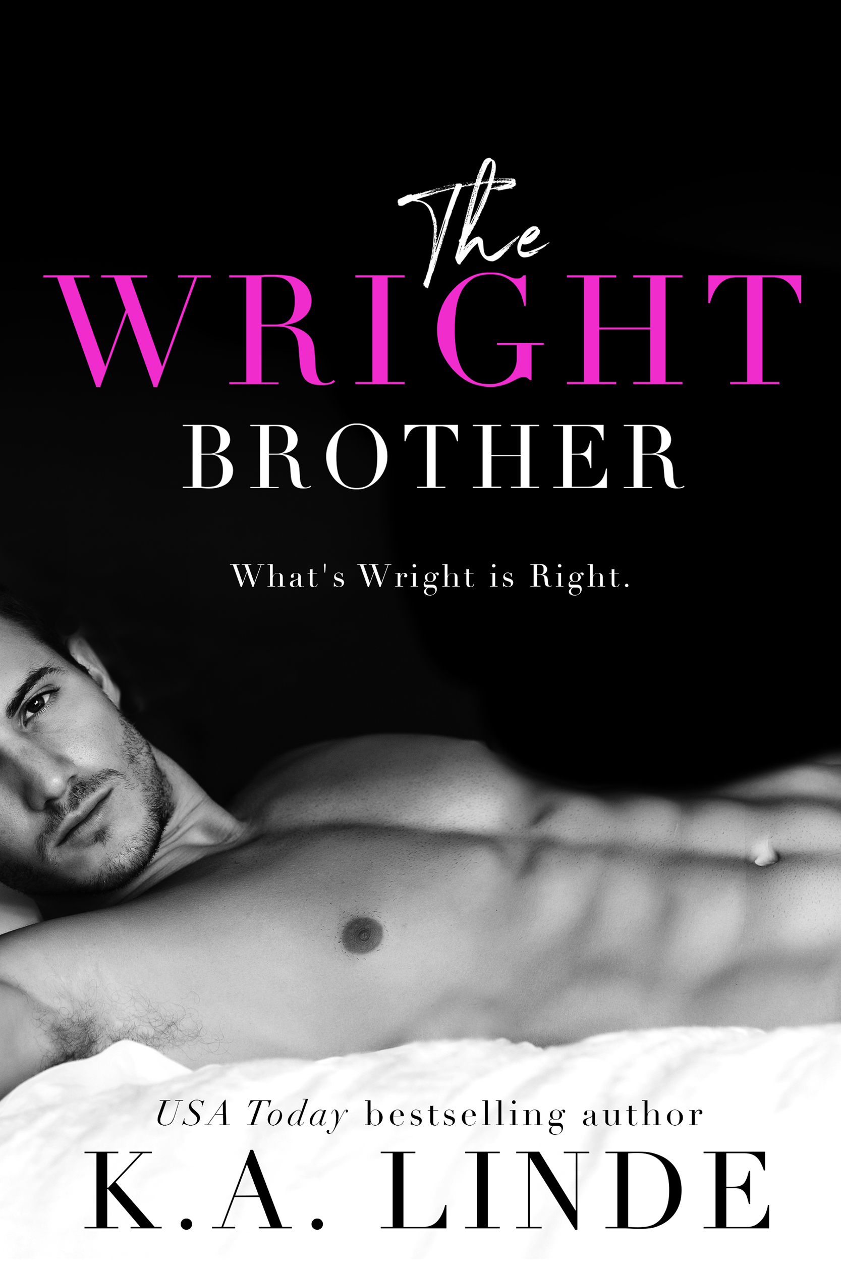 THE WRIGHT BROTHER Cover – K.A. Linde